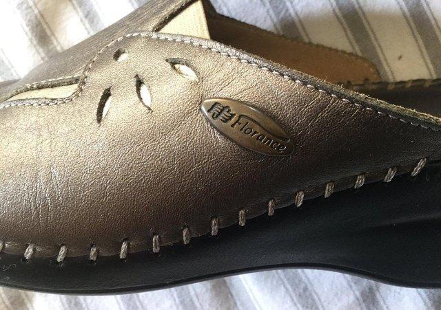 Image 5 of Sz 4 FLORANCE Anti-Shock Comfort Leather Mules