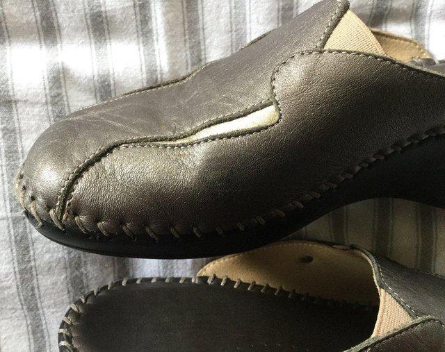 Image 6 of Sz 4 FLORANCE Anti-Shock Comfort Leather Mules