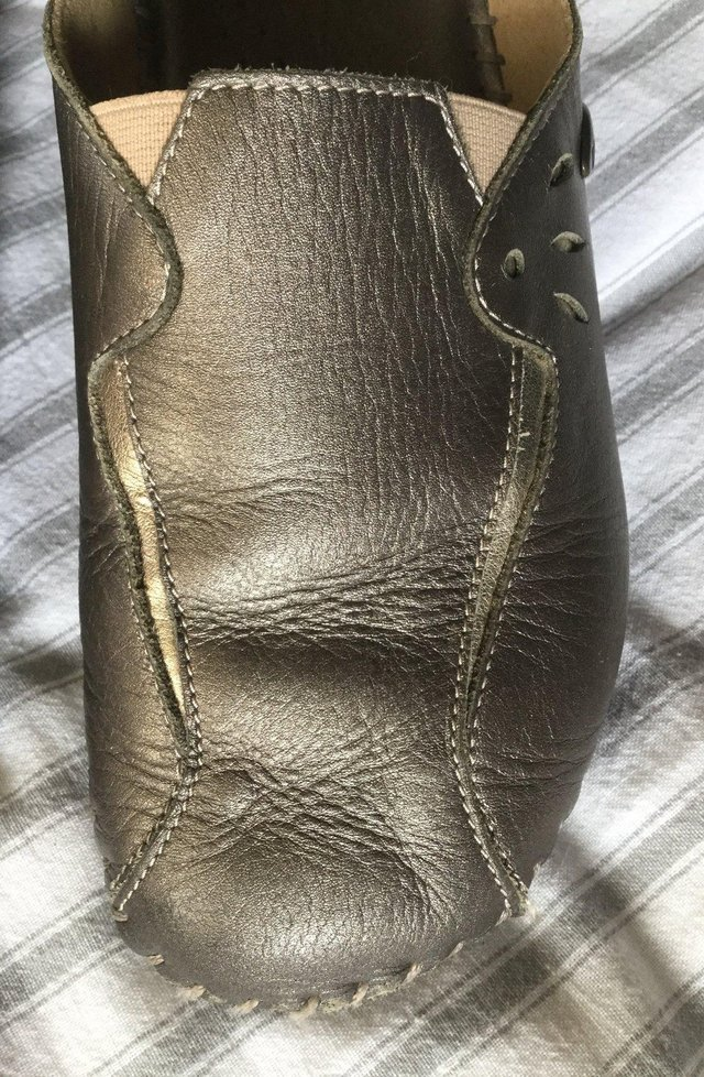 Image 7 of Sz 4 FLORANCE Anti-Shock Comfort Leather Mules