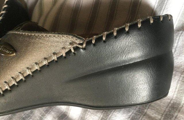 Image 13 of Sz 4 FLORANCE Anti-Shock Comfort Leather Mules