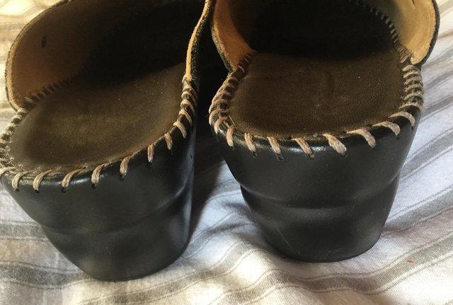 Image 15 of Sz 4 FLORANCE Anti-Shock Comfort Leather Mules