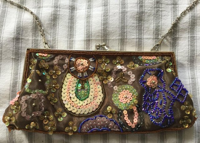 141a82edc1 Absolutely gorgeous brand new without tags BIJOUX TERNER evening bag. Has  long 48