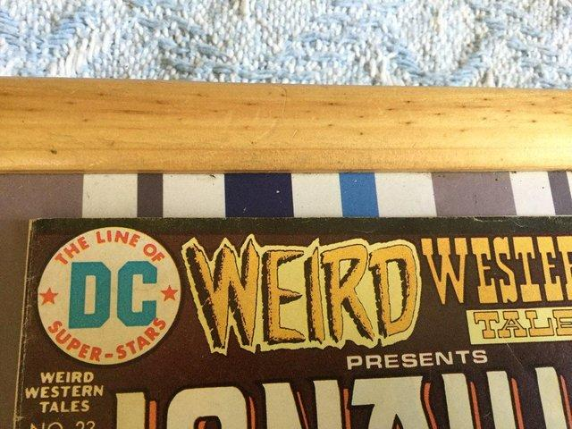 Image 5 of DC Comics Weird Western Tales, JONAH HEX, 1974