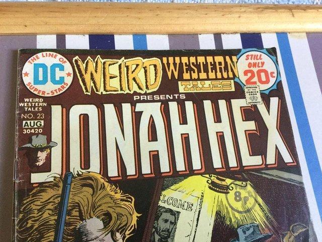 Image 7 of DC Comics Weird Western Tales, JONAH HEX, 1974
