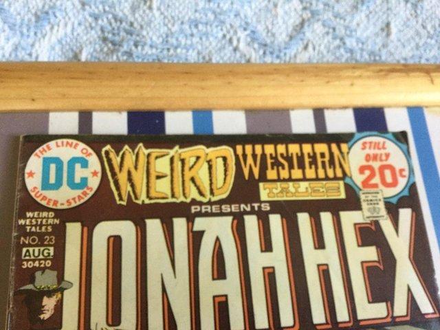 Image 8 of DC Comics Weird Western Tales, JONAH HEX, 1974