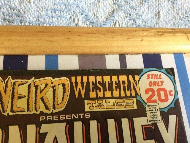 Image 9 of DC Comics Weird Western Tales, JONAH HEX, 1974