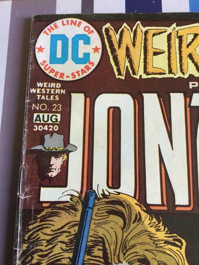 Image 11 of DC Comics Weird Western Tales, JONAH HEX, 1974