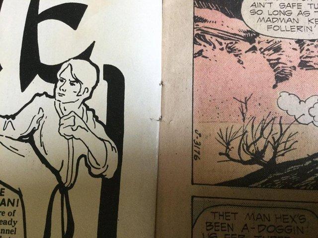 Image 34 of DC Comics Weird Western Tales, JONAH HEX, 1974