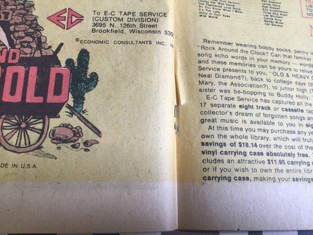 Image 77 of DC Comics Weird Western Tales, JONAH HEX, 1974