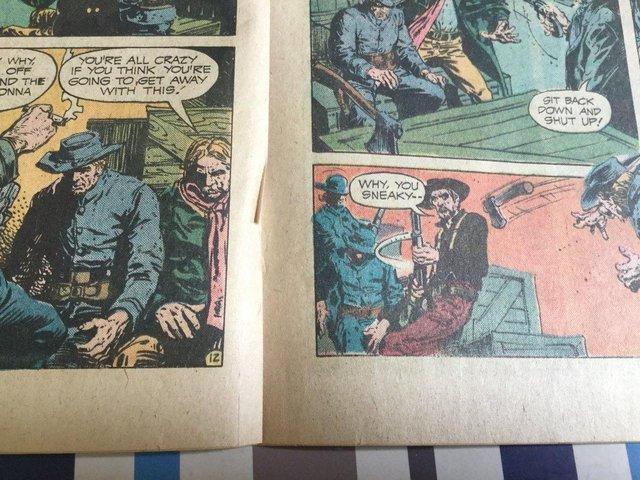 Image 78 of DC Comics Weird Western Tales, JONAH HEX, 1974