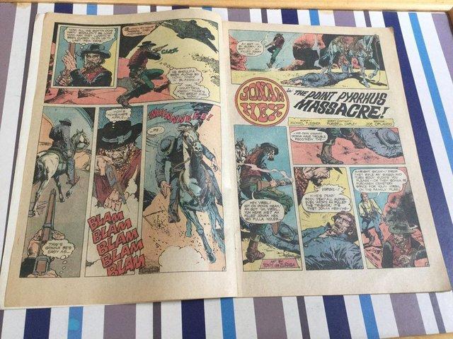 Image 81 of DC Comics Weird Western Tales, JONAH HEX, 1974