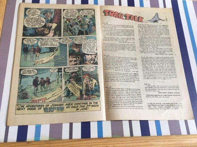 Image 93 of DC Comics Weird Western Tales, JONAH HEX, 1974