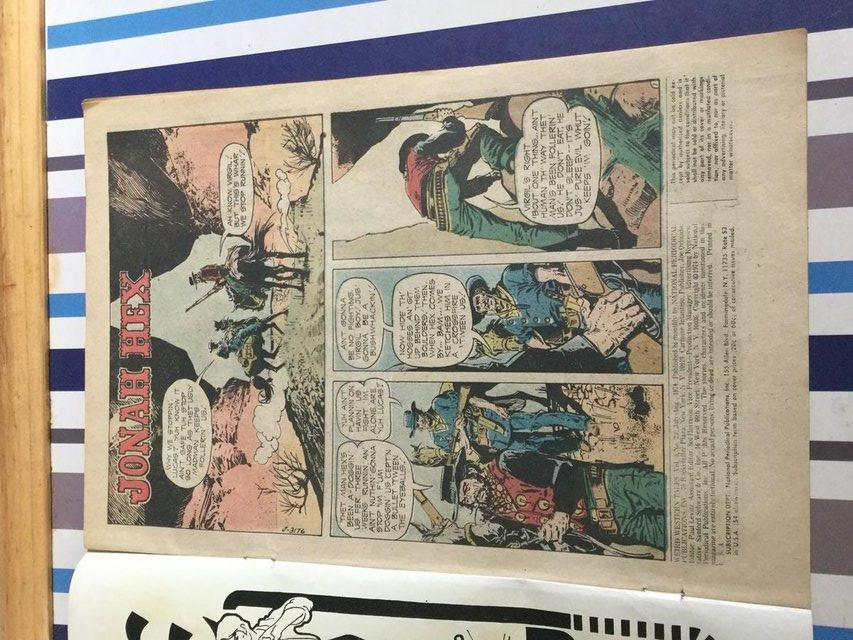 Image 79 of DC Comics Weird Western Tales, JONAH HEX, 1974