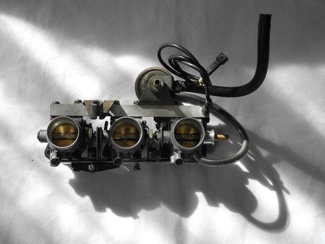 Image 2 of BMW K-75 Throttle Bodies.