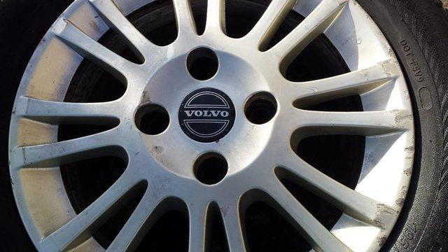 Preview of the first image of VOLVO ALLOYS/STEEL/ SPACE SAVER WHEELS.