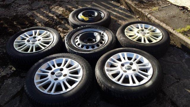 Image 2 of VOLVO ALLOYS/STEEL/ SPACE SAVER WHEELS