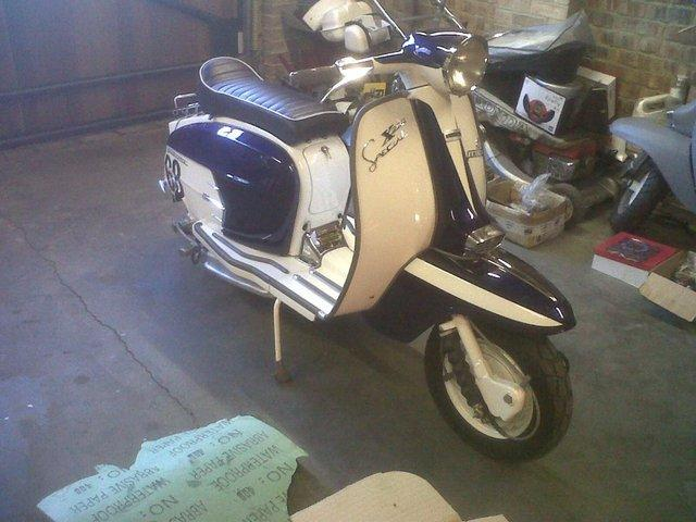 Preview of the first image of Lambretta WANTED Lambrettas WANTED.