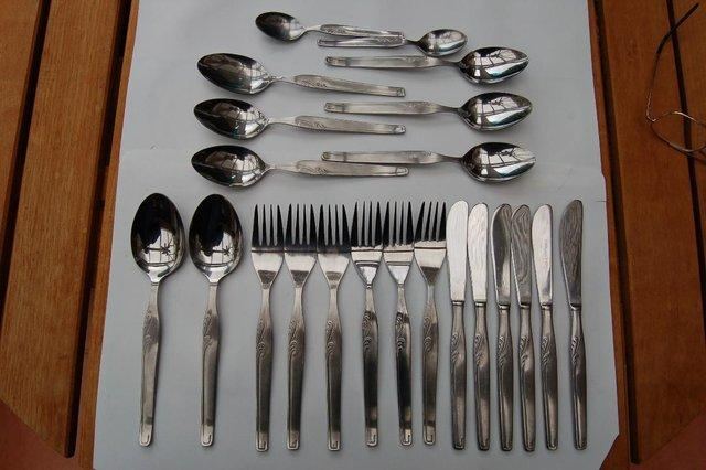 Preview of the first image of Viners Executive Suite, & 2 Other Designs Cutlery, VGC..