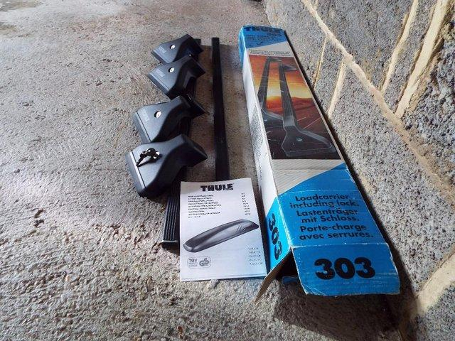 Image 2 of Thule roof rack set for Corsa or Astra
