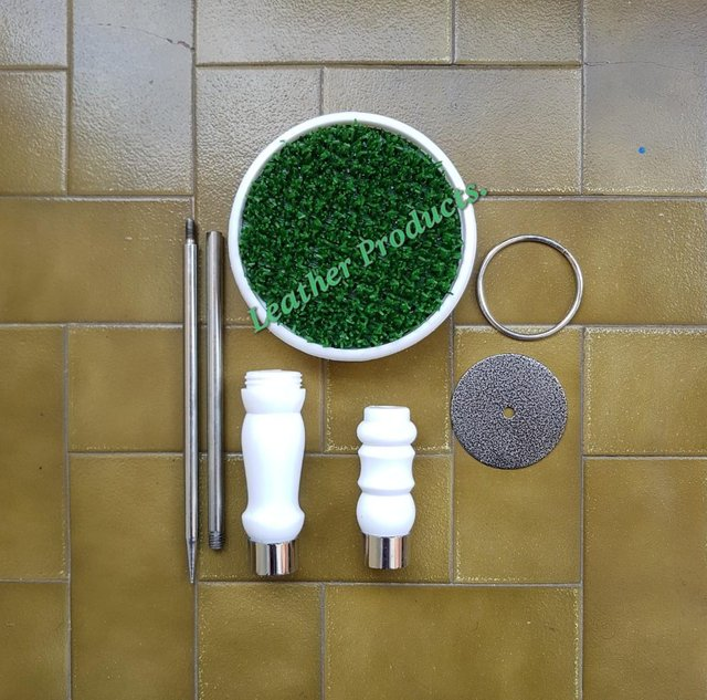 """Image 3 of Falconry Block Perches 6.5"""" Top with real AstroTurf."""