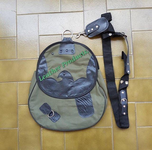 Image 2 of Falconry Cordura Bag, Hunting Bag with Strap