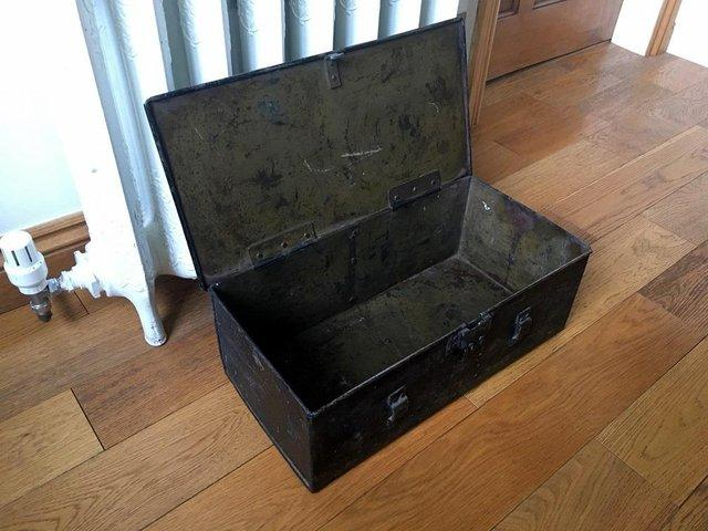 Boxes/chests Intelligent Edwardian Metal Box. Antiques