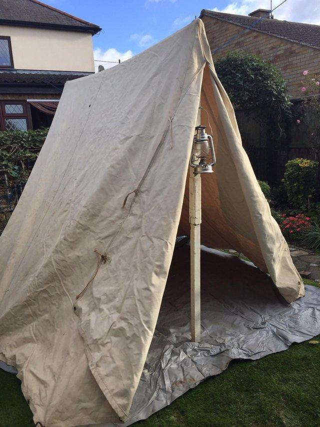 Re-enactors Canvas Tent & canvas - Used Tents Buy and Sell in the UK and Ireland | Preloved