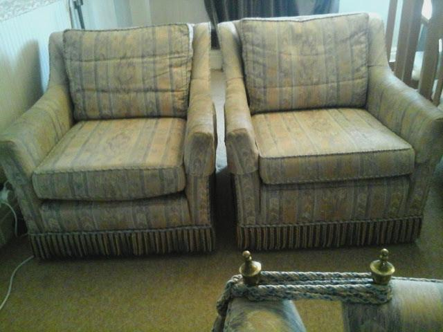 Enjoyable Wade Knole Sofa 2 Armchairs Storage Footstool Will Spli For Sale In Chesterfield Derbyshire Preloved Inzonedesignstudio Interior Chair Design Inzonedesignstudiocom