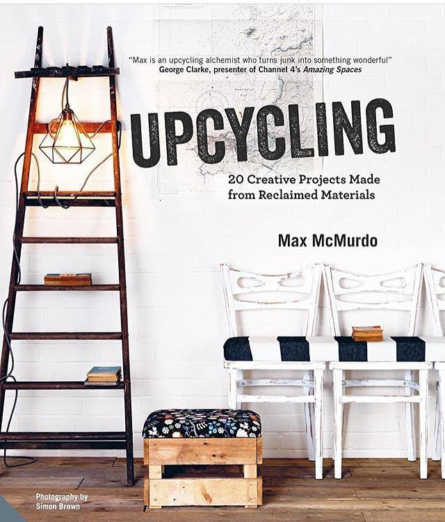 Image 2 of Upcycling book by Max McMurdo The #Pinkcycled copy!