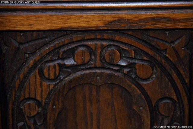 Image 62 of OLD CHARM LIGHT OAK HALL SEAT BOX SETTLE MONKS BENCH CHEST