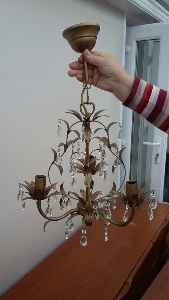 Metal chandeliers second hand lighting buy and sell in the uk laura ashley lavenham chandelier aloadofball Gallery