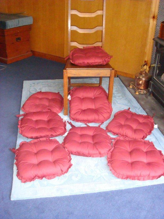 Image 2 of 8- Dining Chair Seat Pads.