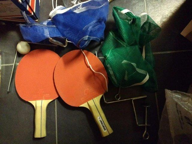 Preview of the first image of table tennis.