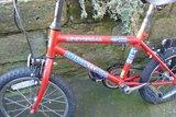 "Small childs bicycle. 16"" Wheels...... - £20"