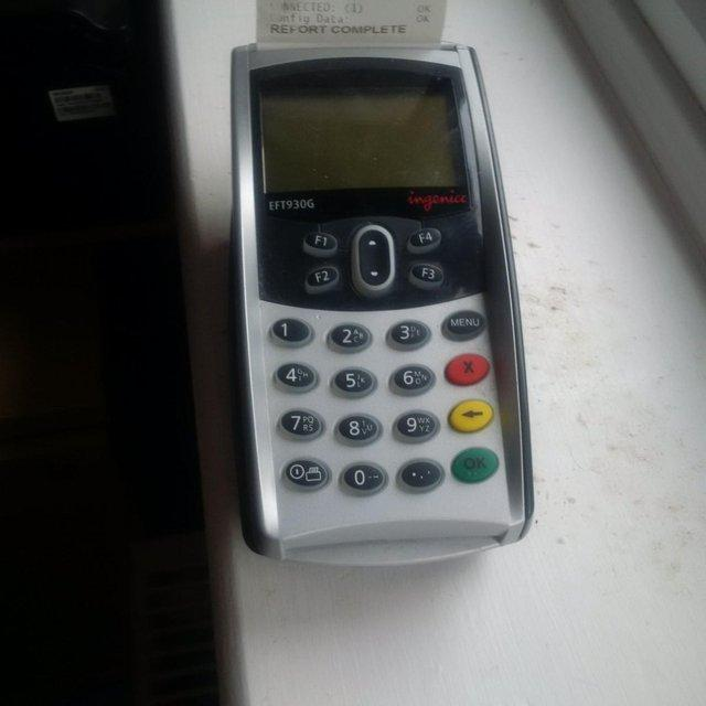 Reduced! Ingenico Credit Card Machine For Sale in Aylesford, Kent | Preloved