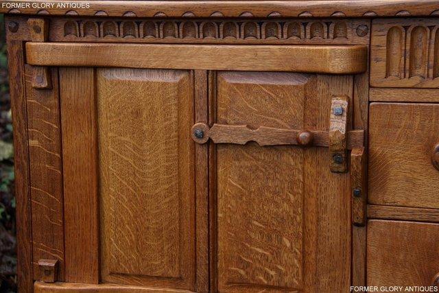 Image 7 of A RUPERT NIGEL GRIFFITHS SOLID OAK DRESSER BASE SIDEBOARD