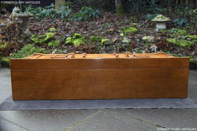 Image 9 of A RUPERT NIGEL GRIFFITHS SOLID OAK DRESSER BASE SIDEBOARD
