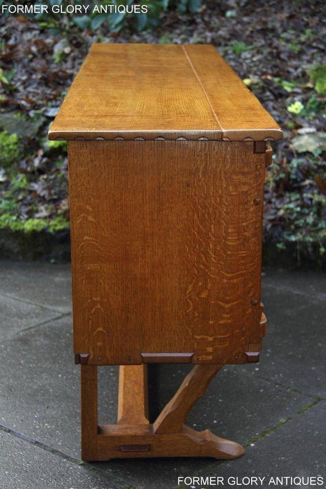 Image 14 of A RUPERT NIGEL GRIFFITHS SOLID OAK DRESSER BASE SIDEBOARD
