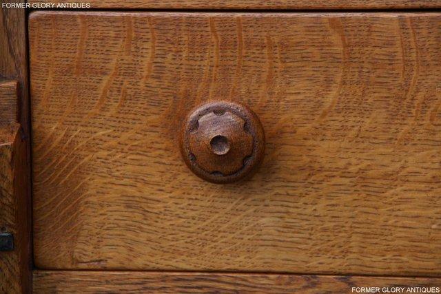 Image 19 of A RUPERT NIGEL GRIFFITHS SOLID OAK DRESSER BASE SIDEBOARD