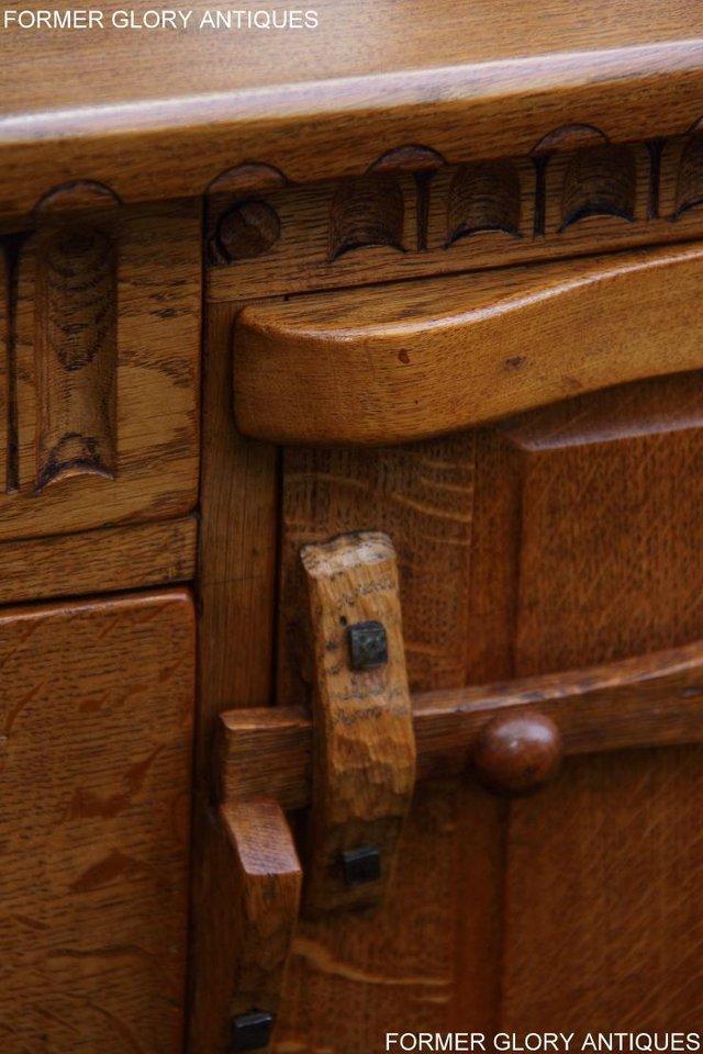 Image 23 of A RUPERT NIGEL GRIFFITHS SOLID OAK DRESSER BASE SIDEBOARD