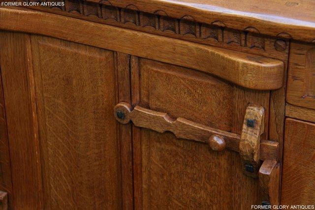 Image 42 of A RUPERT NIGEL GRIFFITHS SOLID OAK DRESSER BASE SIDEBOARD