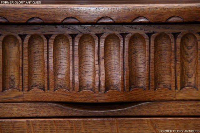 Image 51 of A RUPERT NIGEL GRIFFITHS SOLID OAK DRESSER BASE SIDEBOARD