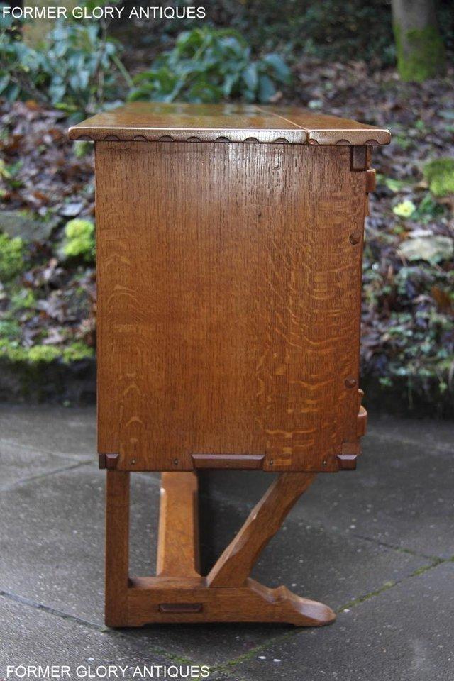 Image 54 of A RUPERT NIGEL GRIFFITHS SOLID OAK DRESSER BASE SIDEBOARD