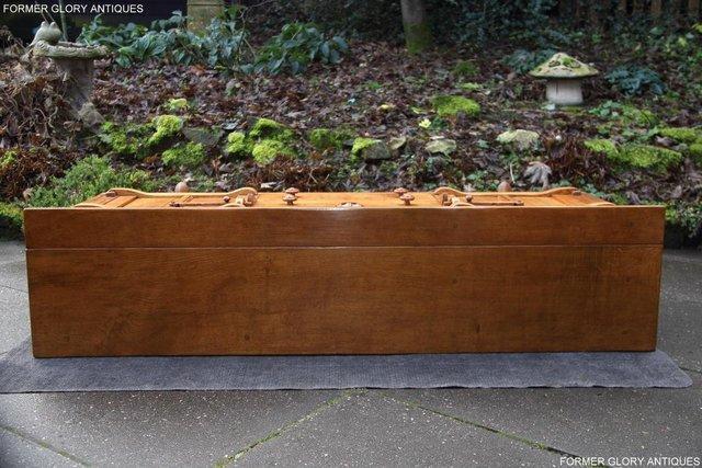 Image 59 of A RUPERT NIGEL GRIFFITHS SOLID OAK DRESSER BASE SIDEBOARD
