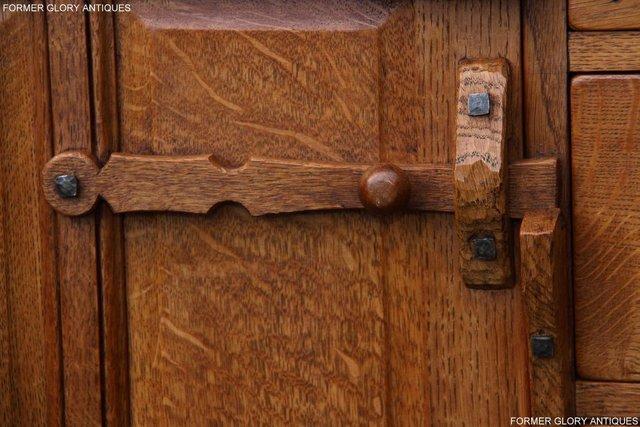 Image 71 of A RUPERT NIGEL GRIFFITHS SOLID OAK DRESSER BASE SIDEBOARD