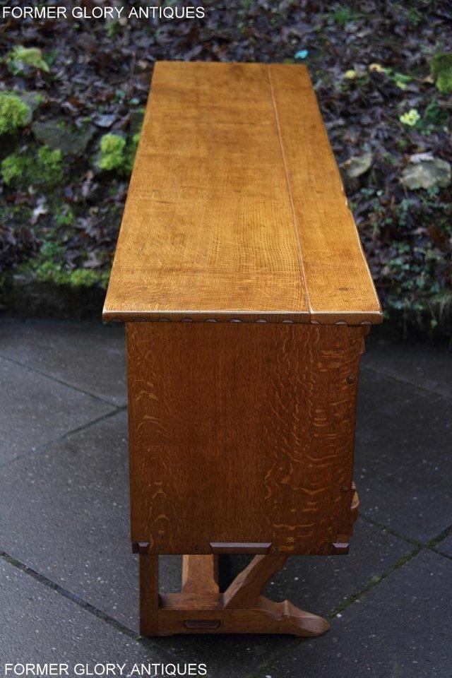 Image 78 of A RUPERT NIGEL GRIFFITHS SOLID OAK DRESSER BASE SIDEBOARD