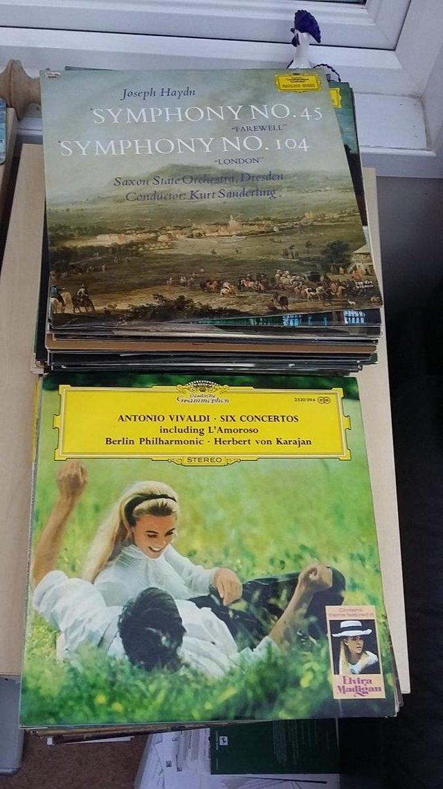 Preview of the first image of 180 Classical LP Vinyl Records, £2-£30 each or £500 the lot.