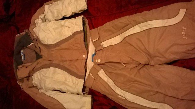 Preview of the first image of Ski Suit size 8 & 10 'No Fear'.