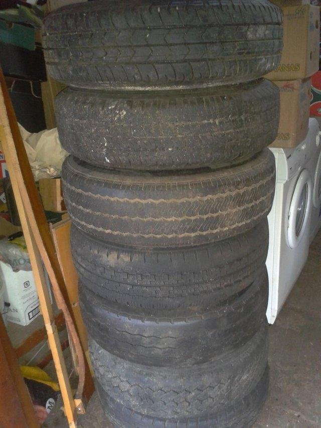 Preview of the first image of 6 x VW, Ford Transit Peugeot Vauxhall Citroen Van Tyres.