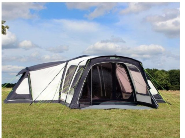 Airdale12 inflatable tent & inflatable tents - Used Tents Buy and Sell in the UK and Ireland ...